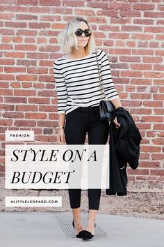How to be stylish on a budget | alittleleopard.com