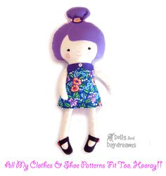 Dolly Donations: Ballerina Doll Sewing Pattern is Finished!!