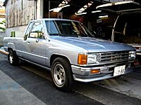 1988 toyota pickup bed size