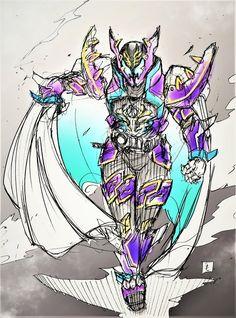 Kamen Rider Prime Rogue Sword Art Online, Online Art, Raider Game, Kamen Rider Kabuto, Kamen Rider Series, Manga Artist, Marvel Entertainment, Shadowrun, Armors