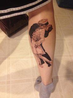 33c2e1beb Kissing Sailor And Nurse Tattoo by Crawl at Chaos Tattoo in Hillsboro, Ohio  Kiss Tattoos