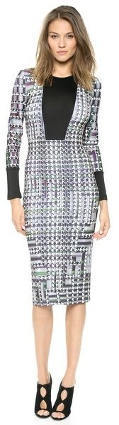 Clover Canyon Trinity College Long Sleeve Dress is on sale now for - 25 % !
