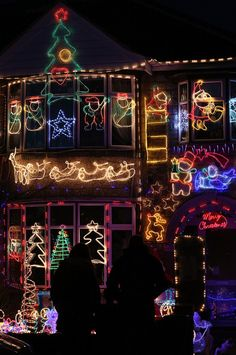 Christmas in Melksham, England