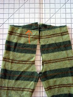 Easy sweater pants