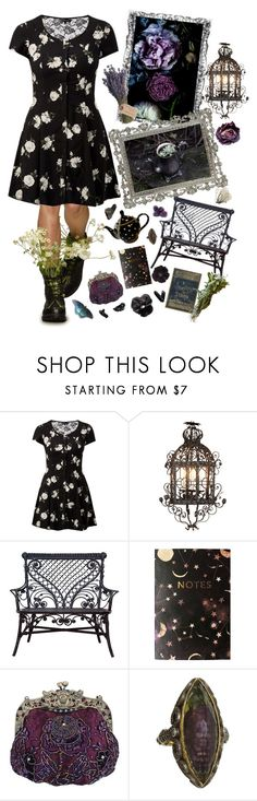 """""""So swoon baby starry nights"""" by beyond-redemption ❤ liked on Polyvore featuring Therapy, Gypsy, Nikki Strange, Olive and Sevan Biçakçi"""