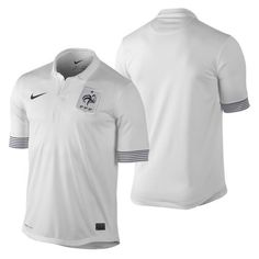 77044672bc71 Nike France Official Euro 2012 Away Soccer Jersey Brand New White