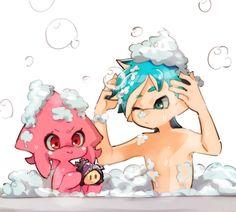 Splatoon Memes, Splatoon 2 Art, Splatoon Comics, Pokemon, Fanart, Cute Anime Character, Digimon, Cute Drawings, Cute Art