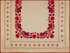 Mint országszerte általában, Szécsény környékén is a színes hímzést, a… Hungarian Embroidery, Textiles, Folk Costume, World Cultures, Fabric Scraps, Folk Art, Embroidery Patterns, Art Decor, Needlework