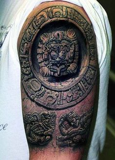 Meanings of Aztec tattoos | Showcase of Art & Design