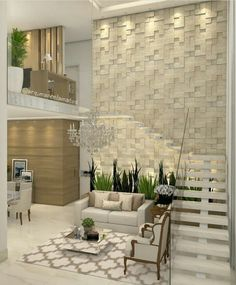 Get to know the best interior design and be inspired! Best Interior Design, Interior Design Living Room, Living Room Designs, Luxury Interior, Modern Stairs, House Stairs, Staircase Design, Stair Design, Modern House Design
