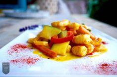 Garnelen Curry mit Kürbis