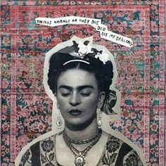 """""""I leave you my portrait so that you will have my presence all the days and nights that I am away from you."""" -Frida Kahlo  #fridakahlo#frida#kahlo#fridakahloinspired#icon#iconic#arte#legend#cult"""