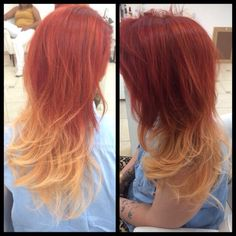 Ombre fire