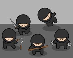 My ninja team would be Me, my brother Keve, my friend Carter,my friend Alana, and my friend Cole.