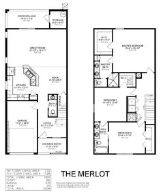 The Merlot townhome by Highland Homes offers 1,801 sq ft of living space with 3 bedrooms, 2.5 baths plus a 1-car garage. Downstairs, enjoy an open living area, kitchen with breakfast bar and nook, plus a powder room, storage area under the stairs and outside on the lanai. Relax in the master suite with walk-in closet, dual vanities, tiled walk-in shower, and linen closet. Two secondary bedrooms share a jack-and-jill bath with dual vanities. Click for more info on this Tampa townhome…