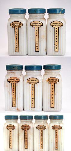Wonderful Vintage Spice Jars