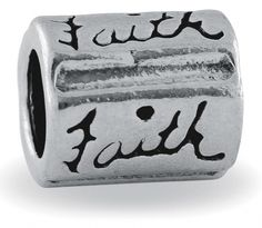 add this faith charm to a personalized Mimzi bracelet for mom!