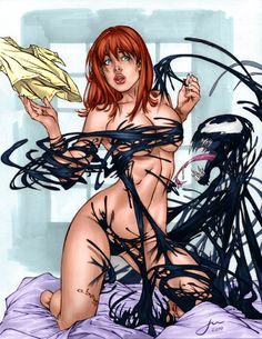 Mary Jane Venom by Eric Basaldua, colours by penichet