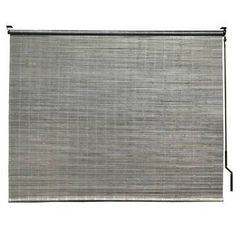 Bayou Breeze Bamboo Crank Semi-Sheer Brown Roll-Up Shade Blind Size: W x Instant Screen Door, Blackout Roman Shades, Bamboo Roman Shades, Driftwood Stain, Bamboo Weaving, Woven Shades, Paved Patio, Cellular Shades, Outdoor Sun Shade