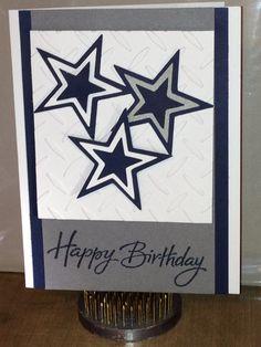 Dallas Cowboys inspired birthday card