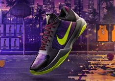 """is teaming up with Nike for the gamer exclusive pair that includes this alternate Kobe 5 Protro """"Chaos"""". Nike Snkrs, Kobe Shoes, Nike Free, Nba, Two By Two, Kicks, Sneakers Nike, Footwear, Pairs"""