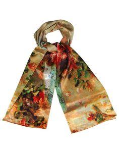 Product Name Silvio Tossi Multicolor Graphic Print Shawl at Modnique.com