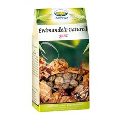 Govinda ganze Erdmandeln Bio (organic earth almonds / tiger nuts / chufas)