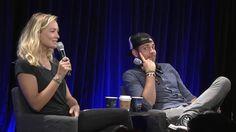 Zachary Levi and Yvonne Strahovski - Nerd HQ 2015 (credit to Soeni on Tumblr)
