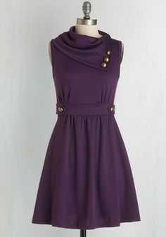Coach Tour Dress in Violet From The Plus Size Fashion At www.VinageAndCurvy.com