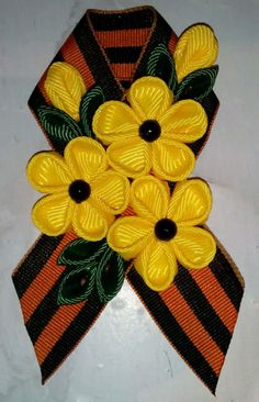 Одноклассники 9 Mai, Just Girl Things, Corsage, Ribbon, Bows, Flowers, Diy, Handmade, Accessories