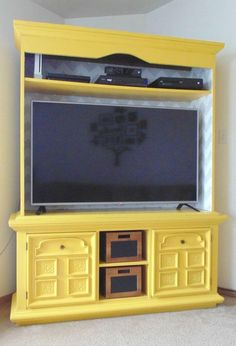 Tv Console Cabinet, Dresser Tv Stand, Smash Book, Pallet Dresser, Tv Stand Plans, Diy Tv Stand, Entertainment Center Decor, Bath And Beyond Coupon, Floating