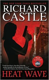 'Heat Wave' by Richard Castle  Book 1 from 'Castle' Yeah, I read books from a fake author based on a TV Show...Love Castle!