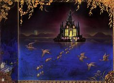 85cfb086bd26e The Black Marble Palace, by Kinuko Y. Craft -- Illustration from