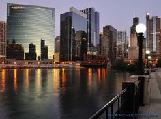 Chicago River (North branch looking south)
