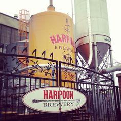 Harpoon Brewery in Boston, MA