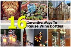 16 Ways To Repurpose Wine Bottles