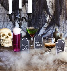 A Trio of Halloween Drinks