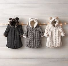 Cable Knit & Luxe Faux Fur Bunting
