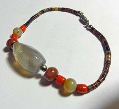Semi Precious Stone Beads Bracelet Native by susiesboutiquecloths