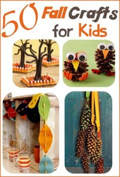 50 Fall Crafts for Kids: Craft Ideas Your Family Will Love | Idees And Solutions