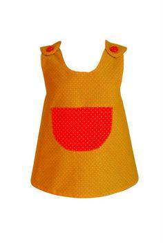 oblekica Križ-Kraž-Kralj-Matjaž, rumeno-oranžna