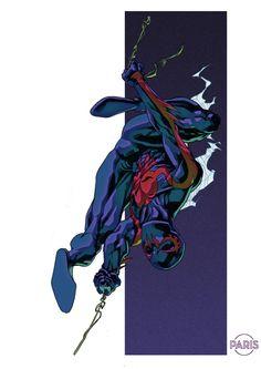 Spider-Man 2099 by Paris Alleyne *
