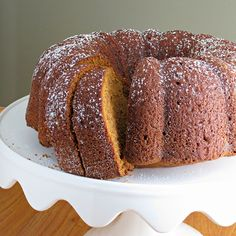 Pumpkin Bundt Cake | Alida's Kitchen