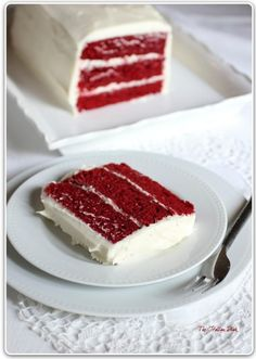 Red Velvet Cake with Cream Cheese Frosting {with favorite way of making a layer cake tips}