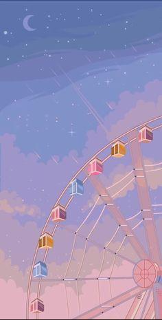 Cute Pastel Wallpaper, Soft Wallpaper, Anime Scenery Wallpaper, Cute Patterns Wallpaper, Purple Wallpaper, Aesthetic Pastel Wallpaper, Kawaii Wallpaper, Cute Wallpaper Backgrounds, Pretty Wallpapers