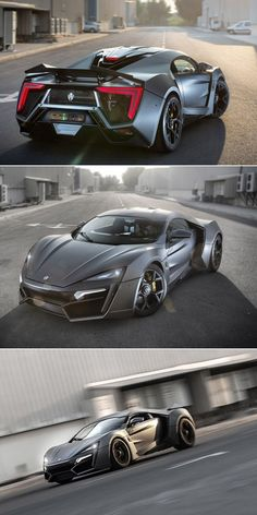 5 Rare Supercars Worth Millions.   Meet the $3.4 million – W Motors Lykan Hypersport.