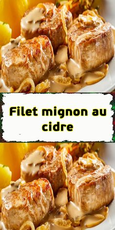 Filet mignon au cidre - The Best Spanish Recipes Cast Iron Casserole Dish, Casserole Dishes, Batch Cooking, Easy Cooking, Overnight French Toast, Fish And Meat, Easy Casserole Recipes, Pork Recipes, Chorizo