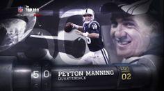#50 - Peyton Manning, Indianapolis Colts
