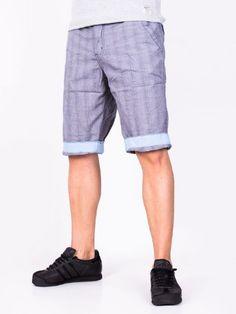 Pantaloni scurti barbati Popular Co - albastru Bermuda Shorts, Denim Shorts, Interior Design, Men, Fashion, Nest Design, Moda, Home Interior Design, Fashion Styles