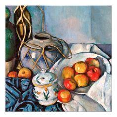 Paul Cezanne Still Life With Apples Oil Painting Reproductions for sale Cezanne Art, Paul Cezanne Paintings, Oil Paintings, Apple Painting, Painting & Drawing, Cezanne Still Life, Still Life With Apples, Art Sur Toile, Catalogue Raisonne